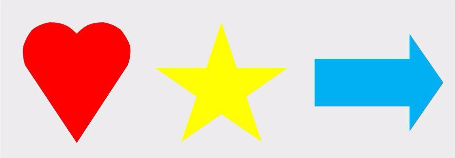 Heart Star Arrow